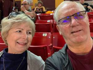Vic attended Arizona State Sun Devils vs. Stanford - NCAA Women's Basketball on Mar 1st 2020 via VetTix