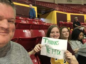 Jerry attended Arizona State Sun Devils vs. Stanford - NCAA Women's Basketball on Mar 1st 2020 via VetTix
