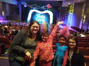 Paul and Caralyn Taylor attended Trolls Live! on Mar 3rd 2020 via VetTix