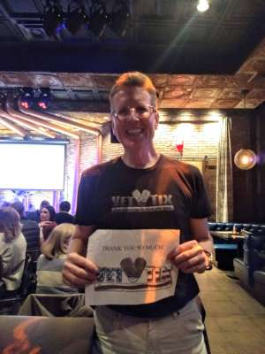 Scott attended Copper Blues Live on Mar 12th 2020 via VetTix