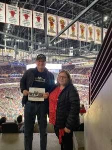 Paul attended Chicago Bulls vs. Dallas Mavericks - NBA on Mar 2nd 2020 via VetTix