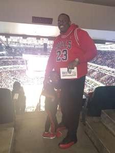 Brittany Harrison attended Chicago Bulls vs. Dallas Mavericks - NBA on Mar 2nd 2020 via VetTix