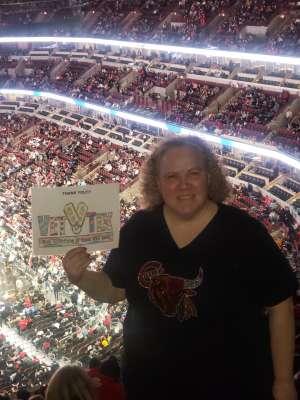 Jeanette, Retired USAF attended Chicago Bulls vs. Dallas Mavericks - NBA on Mar 2nd 2020 via VetTix