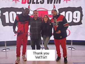 Sam attended Chicago Bulls vs. Dallas Mavericks - NBA on Mar 2nd 2020 via VetTix