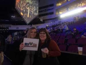 Jordan attended Kiss: End of the Road World Tour on Feb 19th 2020 via VetTix