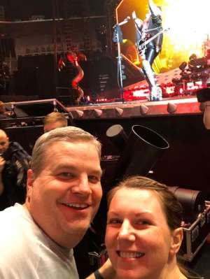 Norman attended Kiss: End of the Road World Tour on Feb 19th 2020 via VetTix