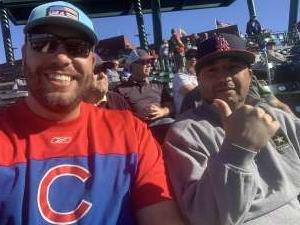 Dustin attended Chicago Cubs vs. Kansas City Royals - MLB ** Spring Training ** on Feb 26th 2020 via VetTix