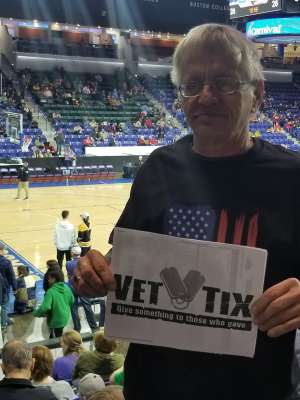 James attended Harlem Globetrotters on Feb 19th 2020 via VetTix