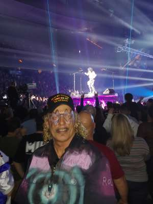 James attended Kiss: End of the Road World Tour on Feb 24th 2020 via VetTix