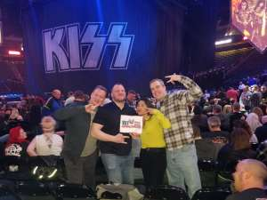 Ryan Benedict attended Kiss: End of the Road World Tour on Feb 24th 2020 via VetTix