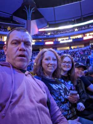 Jared attended Kiss: End of the Road World Tour on Feb 24th 2020 via VetTix