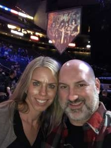 Emilie attended Kiss: End of the Road World Tour on Feb 24th 2020 via VetTix