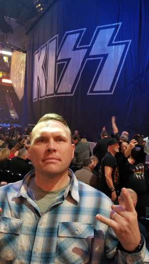 Paul attended Kiss: End of the Road World Tour on Feb 24th 2020 via VetTix