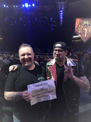 Dan attended Kiss: End of the Road World Tour on Feb 24th 2020 via VetTix