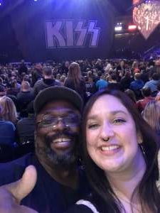 Bustamante  attended Kiss: End of the Road World Tour on Feb 24th 2020 via VetTix