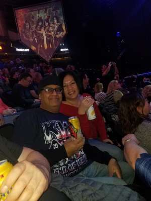 Shan attended Kiss: End of the Road World Tour on Feb 24th 2020 via VetTix
