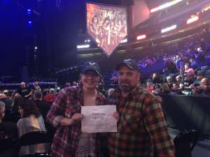Robert attended Kiss: End of the Road World Tour on Feb 24th 2020 via VetTix