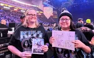 Jennifer attended Kiss: End of the Road World Tour on Feb 24th 2020 via VetTix