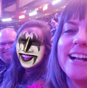 Don attended Kiss: End of the Road World Tour on Feb 24th 2020 via VetTix