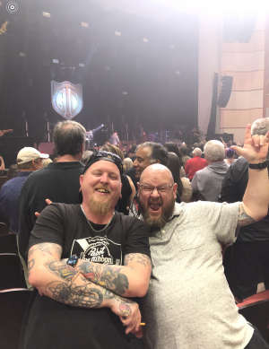 Zayne attended George Thorogood and The Destroyers