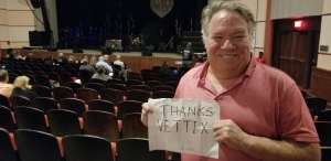 Ron attended George Thorogood and The Destroyers