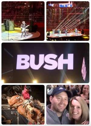SETH attended San Antonio PRCA Rodeo Semi-Finals Followed by BUSH on Feb 19th 2020 via VetTix