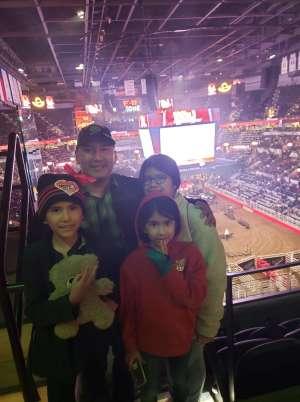 Rodrigo attended San Antonio PRCA Rodeo Semi-Finals Followed by BUSH on Feb 19th 2020 via VetTix