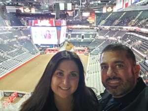 Aurelio attended San Antonio PRCA Rodeo Semi-Finals Followed by BUSH on Feb 19th 2020 via VetTix