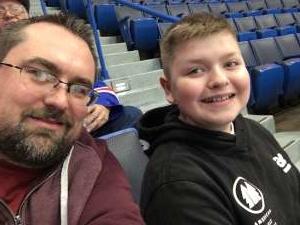 Tom attended Hartford Wolf Pack vs. Hershey Bears - AHL on Mar 7th 2020 via VetTix