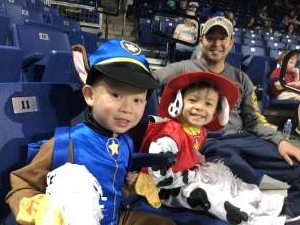 SSG Nguyen attended Paw Patrol Live: Race to the Rescue on Mar 11th 2020 via VetTix
