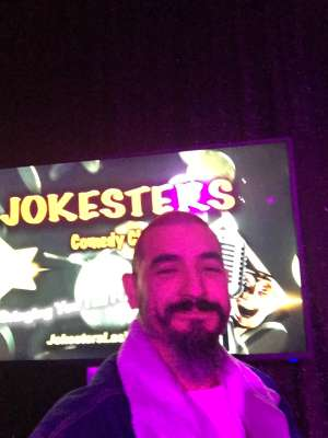 Dame attended Jokesters Comedy Club on Mar 13th 2020 via VetTix