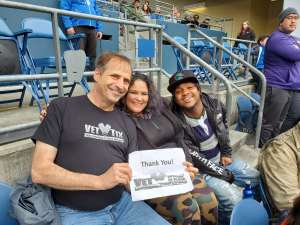 TROY attended Seattle Dragons vs. Dallas Renegades - XFL on Feb 22nd 2020 via VetTix