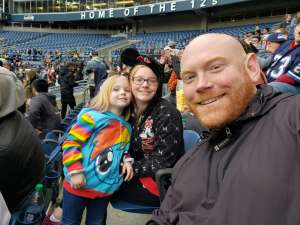 Carrie attended Seattle Dragons vs. Dallas Renegades - XFL on Feb 22nd 2020 via VetTix