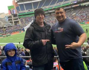 Augustine attended Seattle Dragons vs. Dallas Renegades - XFL on Feb 22nd 2020 via VetTix