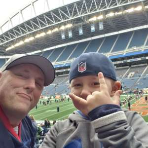 cory attended Seattle Dragons vs. Dallas Renegades - XFL on Feb 22nd 2020 via VetTix