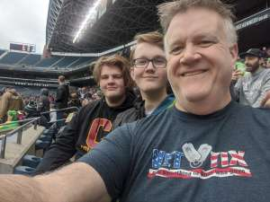 Chris attended Seattle Dragons vs. Dallas Renegades - XFL on Feb 22nd 2020 via VetTix