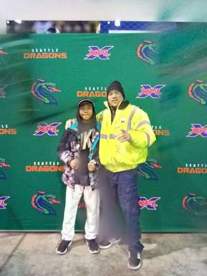 Kevin attended Seattle Dragons vs. Dallas Renegades - XFL on Feb 22nd 2020 via VetTix