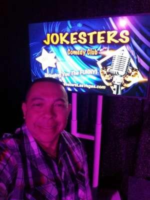 Rick attended Jokesters Comedy Club on Mar 14th 2020 via VetTix