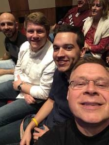 PJDB attended Steven Curtis Chapman: SCC Solo on Mar 8th 2020 via VetTix