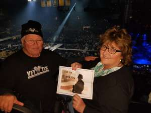 Chris attended TobyMac Hits Deep Tour on Mar 6th 2020 via VetTix