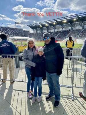 Nestor attended DC United vs. Colorado Rapids - MLS on Feb 29th 2020 via VetTix