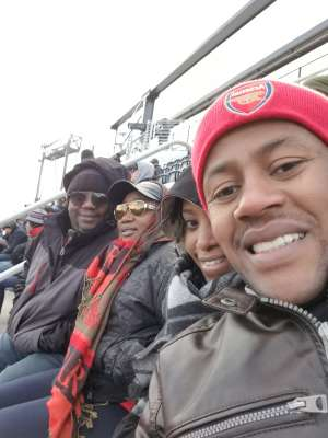 Edward attended DC United vs. Colorado Rapids - MLS on Feb 29th 2020 via VetTix
