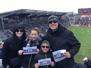 Vought Family attended DC United vs. Colorado Rapids - MLS on Feb 29th 2020 via VetTix
