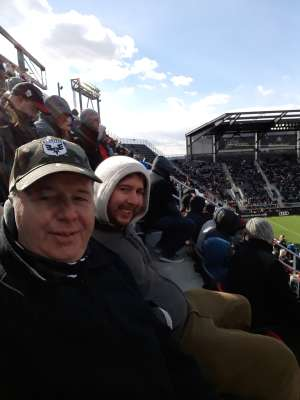 USCG attended DC United vs. Colorado Rapids - MLS on Feb 29th 2020 via VetTix