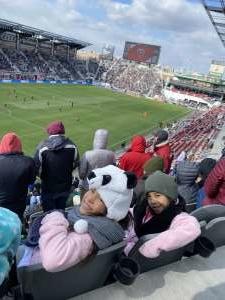 JessieLee attended DC United vs. Colorado Rapids - MLS on Feb 29th 2020 via VetTix