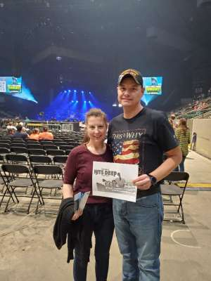 Best Show in 2020 attended TobyMac Hits Deep Tour on Mar 12th 2020 via VetTix