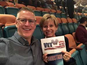 GEORGE attended Bandstand on Mar 3rd 2020 via VetTix