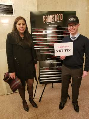 Thank you attended Bandstand on Mar 3rd 2020 via VetTix