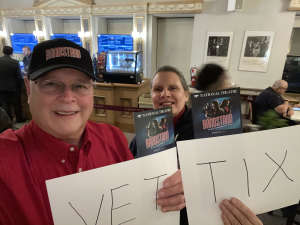 Buff attended Bandstand on Mar 3rd 2020 via VetTix