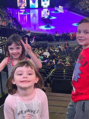 nelsong07 attended Disney on Ice - Road Trip Adventures on Mar 12th 2020 via VetTix